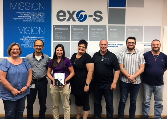 A second GM Supplier Quality Excellence Award for Exo-s Howe