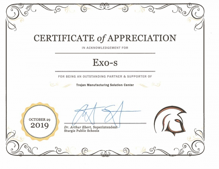 Exo-s involved in its community