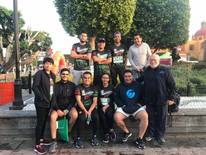 On November 24, ten Exo-s' employees participated to a 3, 5 and 10 km run in San Juan del Rio!!